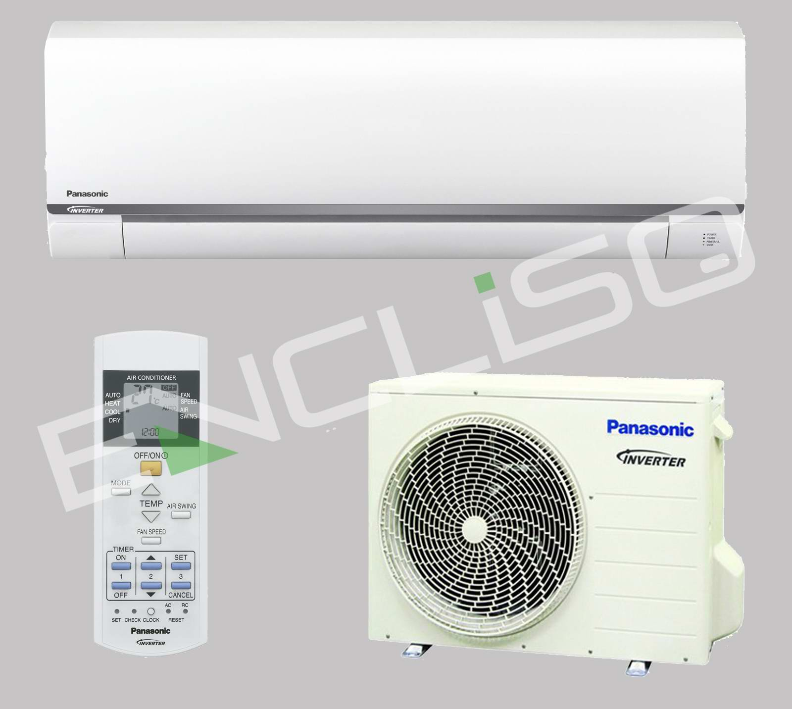 panasonic cs ue9rke cu ue9rke klimaanlage single split a inverter. Black Bedroom Furniture Sets. Home Design Ideas